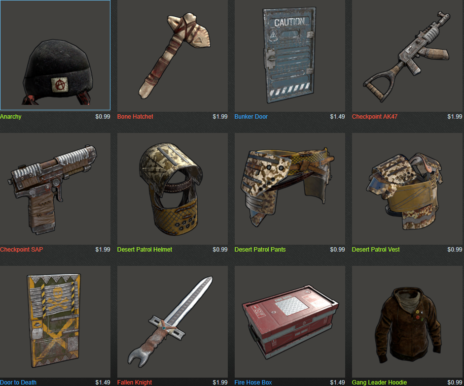 New Skins for Rust - General - RustEZ