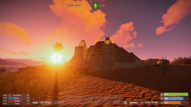 Desert Pyramid - Survival