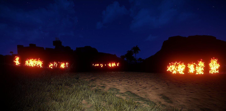 Meteor fires